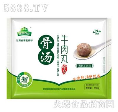 康美农庄250g麻辣牛肉丸克