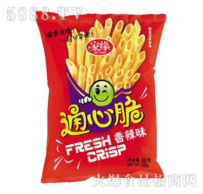 家缘88g通心脆(香辣味)|北京华飞食品有限公司-火爆网
