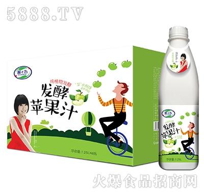 酷e百发酵苹果汁1.25Lx6瓶