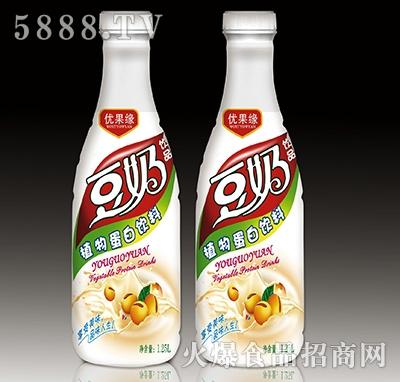 1.25L优果缘豆奶饮品植物蛋白饮料产品图