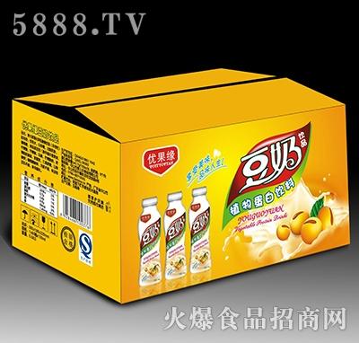 500mL优果缘豆奶饮品植物蛋白饮料箱装产品图