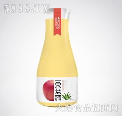 一果益蔬苹果芦荟清汁1l