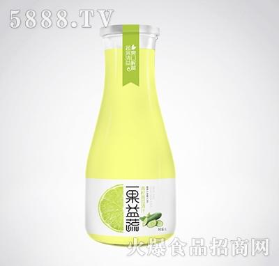 一果益蔬青柠黄瓜清汁1l