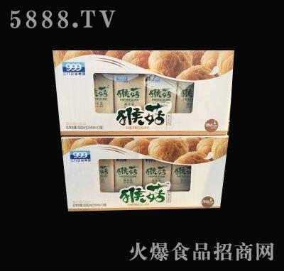 三九猴菇养生乳复合蛋白饮品侧开箱