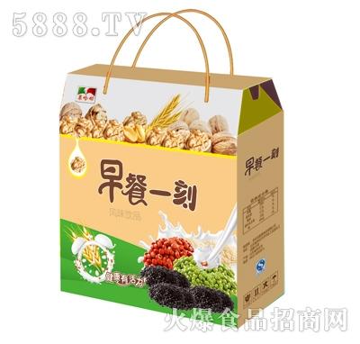 果哈呦早餐一刻粗粮风味饮品手提袋礼盒