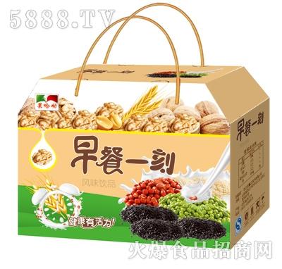 果哈呦早餐一刻粗粮风味饮品手提礼盒箱