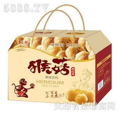 瑞纯猴菇养生乳果味饮料礼盒