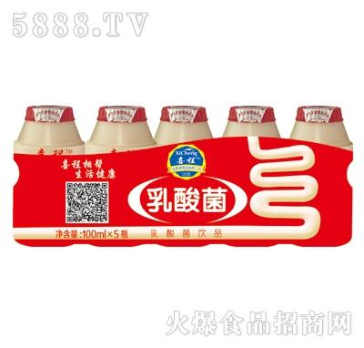 喜程乳酸菌饮品100mlX5瓶