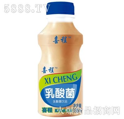 喜程乳酸菌饮品338ml