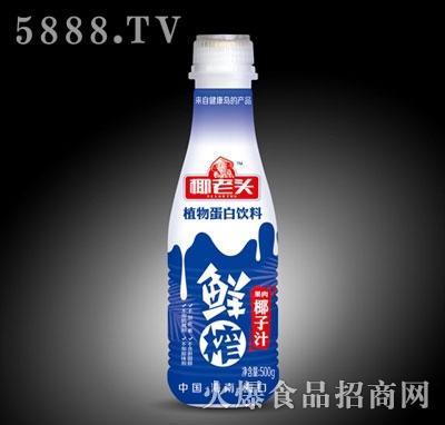 椰老头500克鲜榨椰子汁瓶装