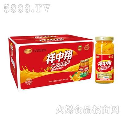 祥中翔260g柑橘罐头