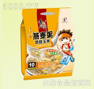麦丹郎鸡茸玉米燕麦粥370g