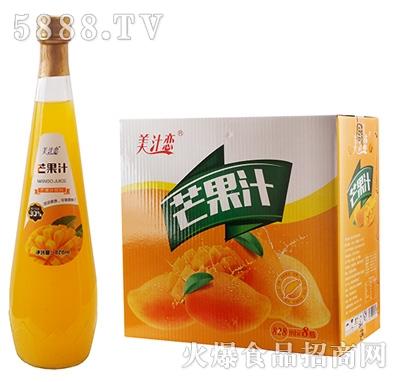 美汁恋828ml芒果汁x8瓶