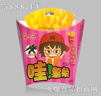 萌小乐哇!薯条田园番茄味30g