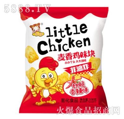 华妞麦香鸡味块香辣味108g