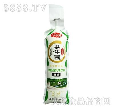 百乐滋益生菌发酵型乳味饮品原味200ml
