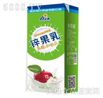 初元食品锌果乳原味250ml