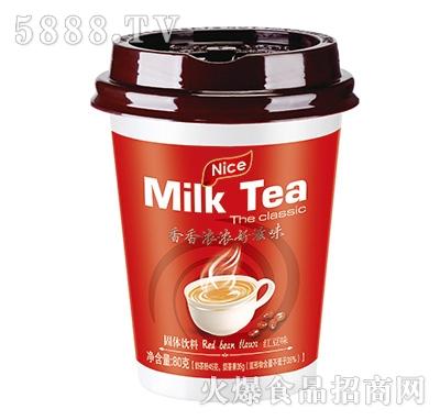 佳因美红豆味奶茶80克