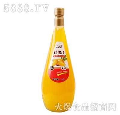 美汁恋1.5L生榨芒果汁(红)