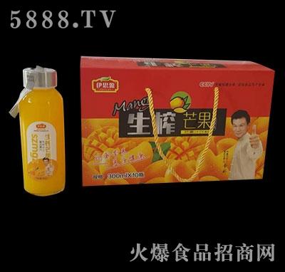 伊思源300mLx10瓶生榨芒果汁