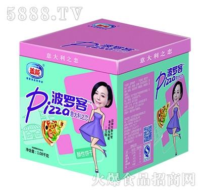 盖能波罗客披萨正方盒1.08kg