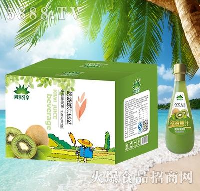 四季分享猕猴桃汁饮料箱装