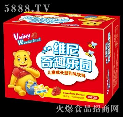 维尼奇趣乐园儿童成长型饮品草莓味200mlx20瓶