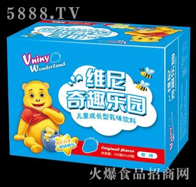 维尼奇趣乐园儿童成长型饮品原味200mlx20瓶