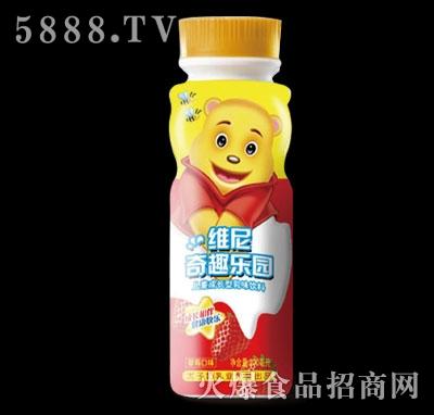 维尼奇趣乐园儿童成长型饮品草莓味200ml
