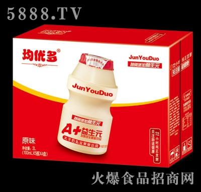 均优多乳酸菌饮品原味2l