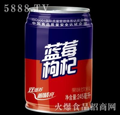 亲情1家蓝莓枸杞果味饮料240ml