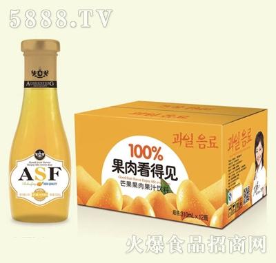 奥知源芒果果汁果肉饮料275mlx12瓶