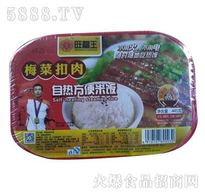 旺福王梅菜扣肉自热方便米饭产品图