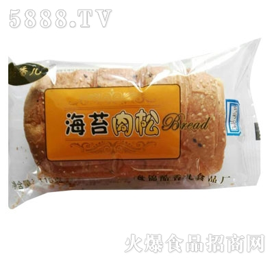 酷香儿海苔肉松面包