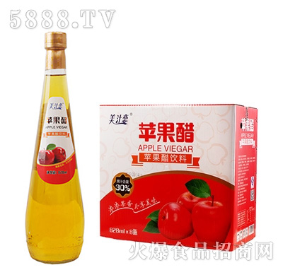 美汁恋苹果醋828mlx8瓶