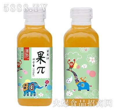 源农果π芒果汁500ml