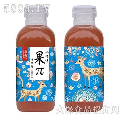 源农果π山楂汁500ml