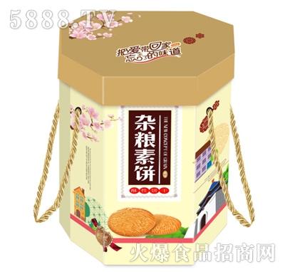 客礼思杂粮素饼干(箱)