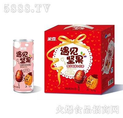 米奇遇见坚果(果仁核桃+红枣)240ml×12罐