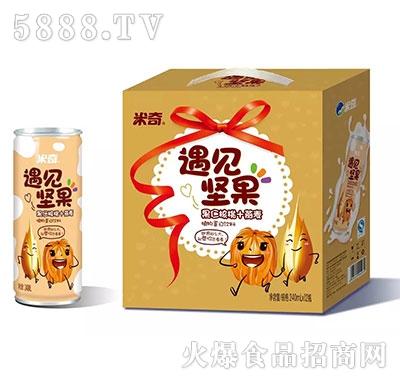 米奇遇见坚果(果仁核桃+燕麦)240ml×12罐
