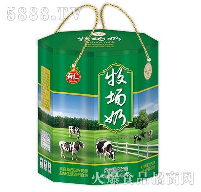 有仁牧场奶饮品250mlx12盒
