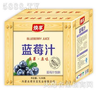 焕享蓝莓汁饮料1Lx6瓶