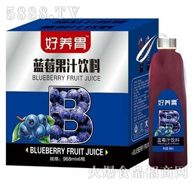好养胃蓝莓汁饮料968mlX6瓶