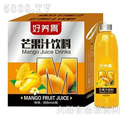 好养胃芒果汁饮料968mlX6瓶