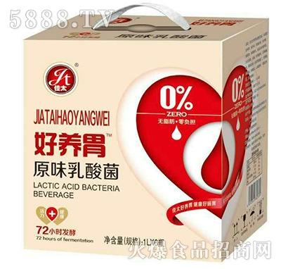 好养胃原味乳酸菌饮品1Lx6瓶