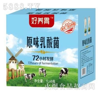 好养胃原味乳酸菌1Lx6瓶