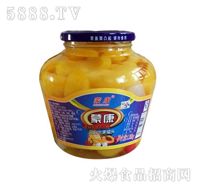 蒙康混合水果罐头1.25kg