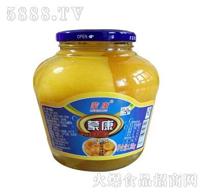 蒙康桃水果罐头1.25kg