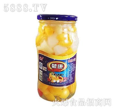 蒙康1kg什锦水果罐头