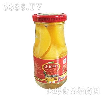 蒙康248g混合水果罐头
